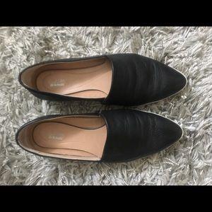 Leather Dr Scholls flats size 6.5